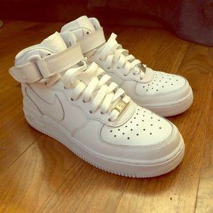 Nike Air Force 1 size 6 white